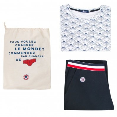 Le Dormeur - Navy pyjama pack