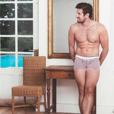 Le Marius BBR - Striped boxer brief