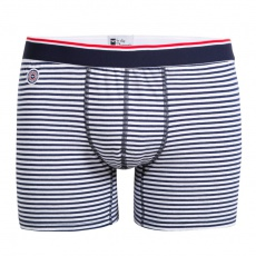 Le Michel - Striped long boxer brief