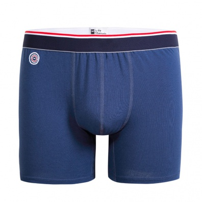 Le Michel outremer - Blue long boxer brief