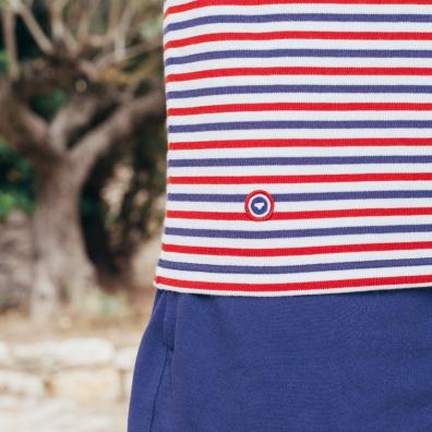 La Marinière tricolore - Bleu blanc rouge