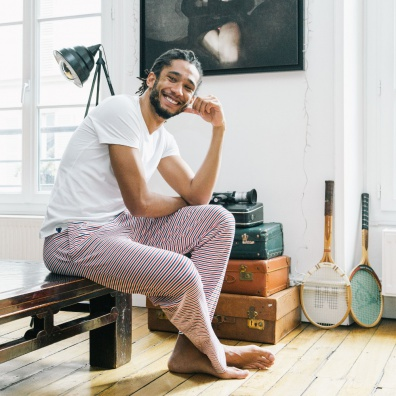 Le Toudou - Striped pyjama