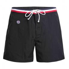 Le Capitaine - Long black swim short