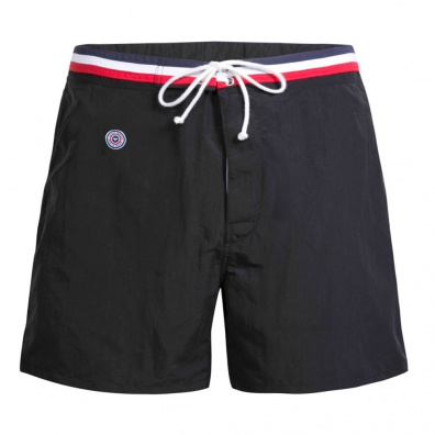Short de bain long noir