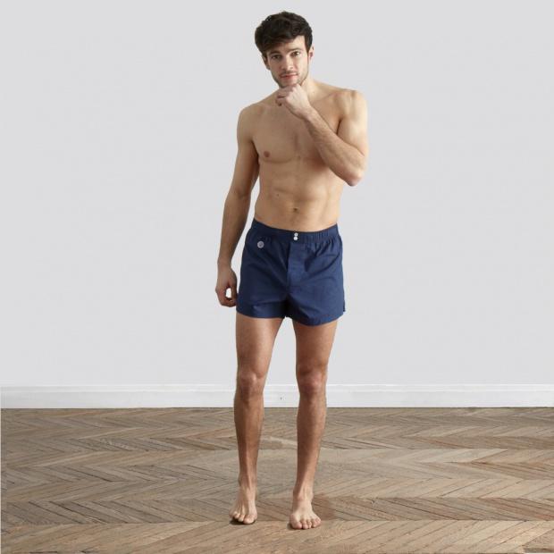 Le Charles - Blue boxer short