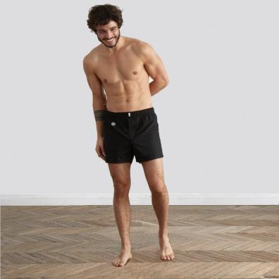 The Léon - Black Boxer Shorts