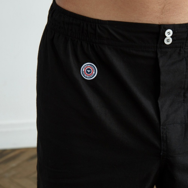 Le Léon - Black boxer short