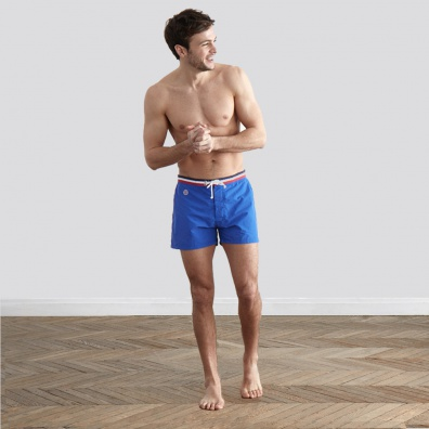 Le Capitaine électrique - Klein blue swim short