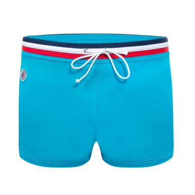 Le Triton - Blue Swim boxer brief