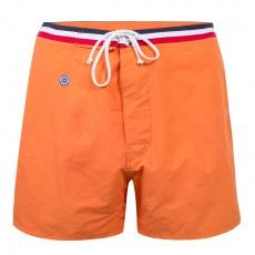 Le Capitaine - Long orange swim short