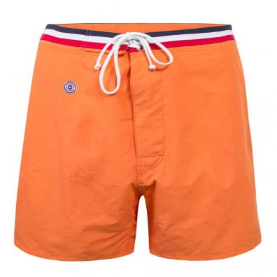 Short de bain long orange - Long orange swim short