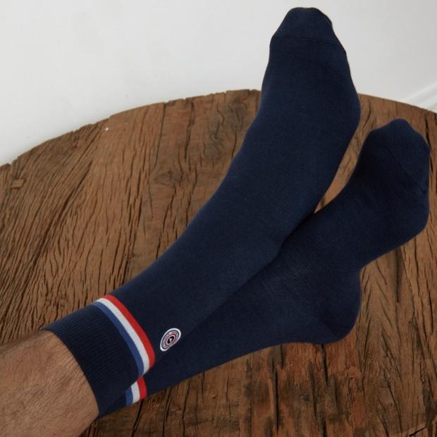 La Loire - Navy blue socks