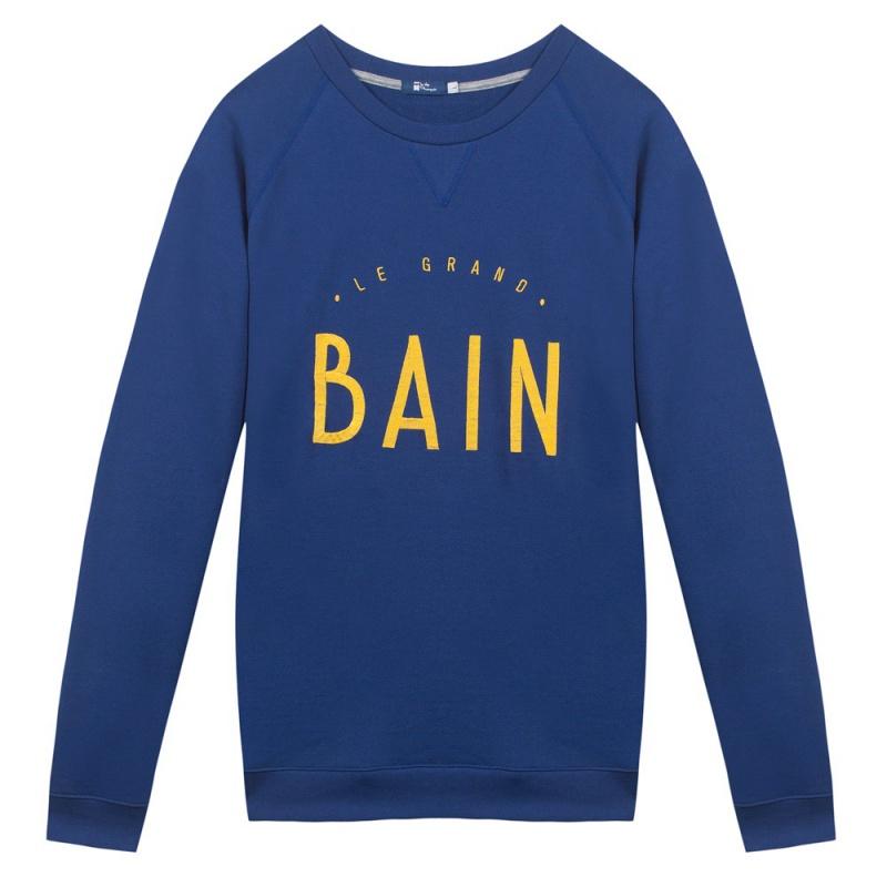 Le hubert sweat shirt le grand bain le slip fran ais for How to not sweat through shirts