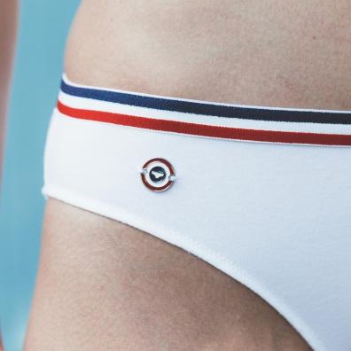 La Madeleine - White sports panties