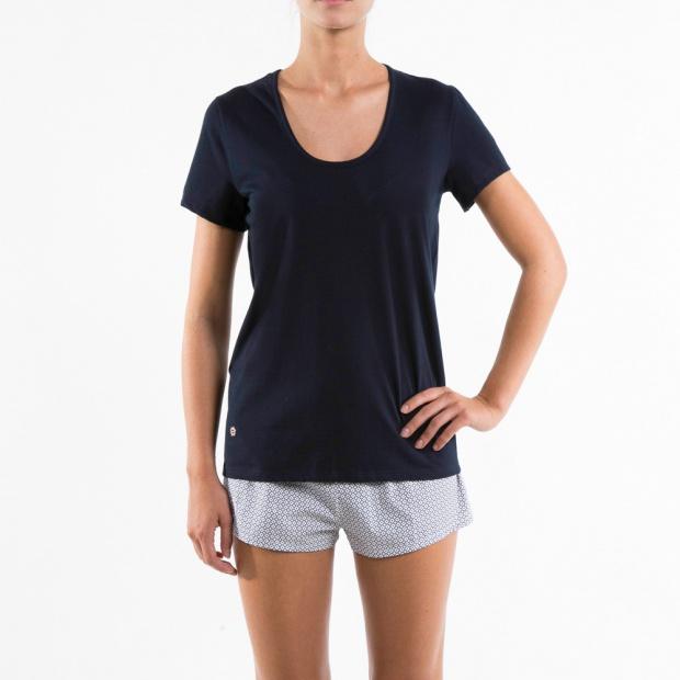 Le Brigitte - Blue t-shirt