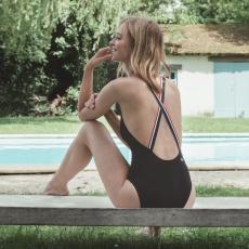 La Nautica - Black one-piece swimsuit
