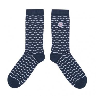 Les Lucas Pois - Black and white socks