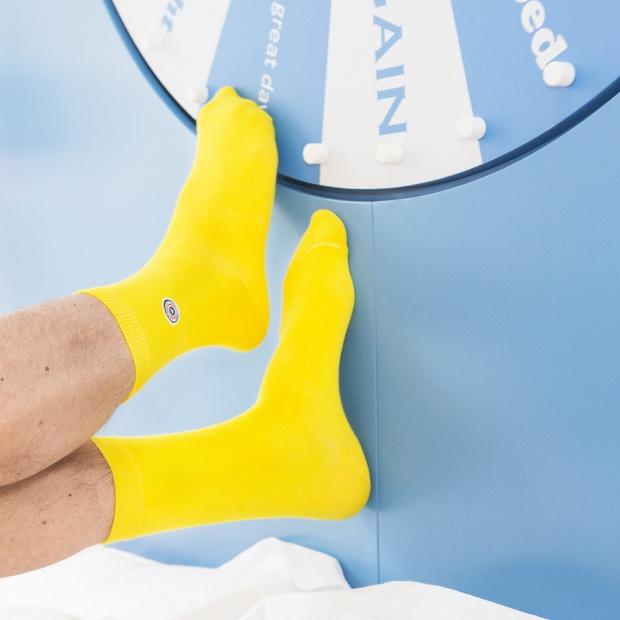 La Corrèze - Yellow socks
