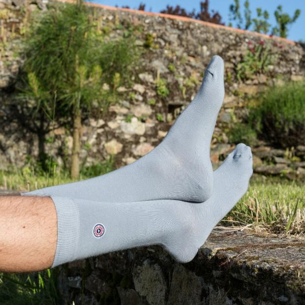 La Mayenne - Light grey socks