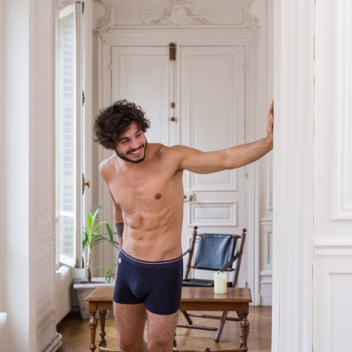 Le Samuel - Blue modal boxer brief