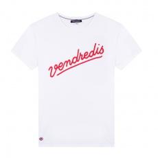 Le Jean F Vendredis - White T-shirt