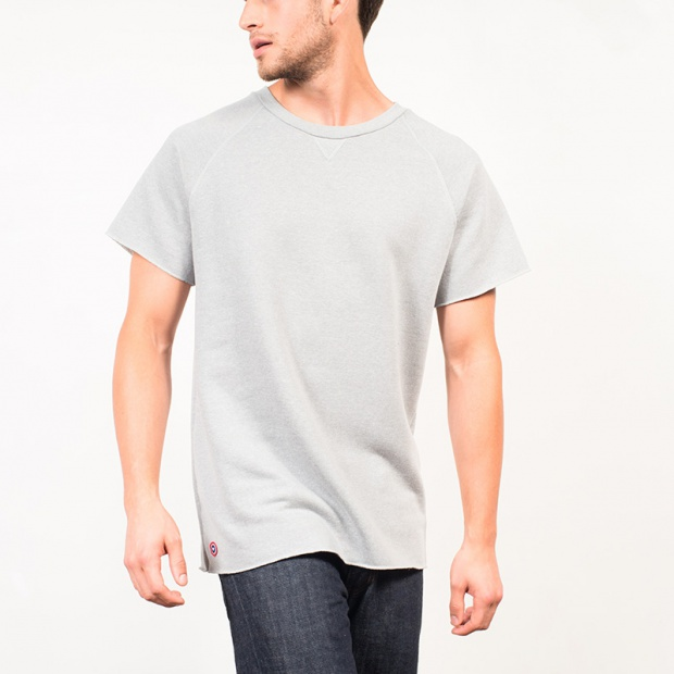 Le Tomasi - Grey duffel t-shirt