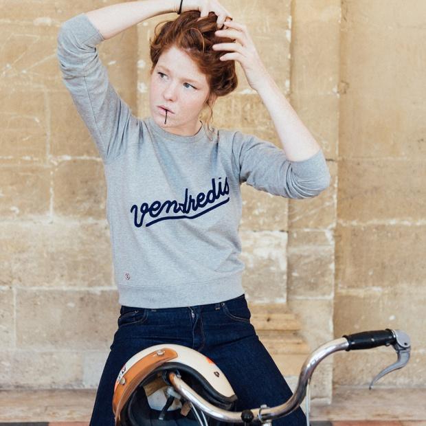 La Sophia Vendredi - Grey Sweatshirt