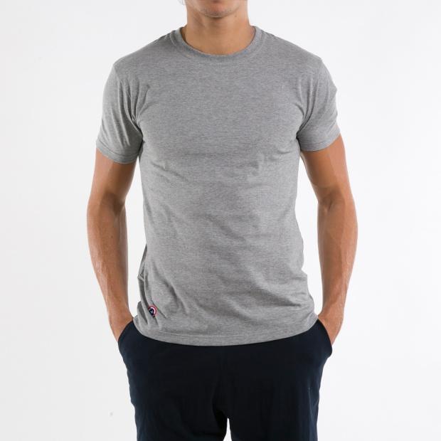 Le Clint - Grey marle t-shirt