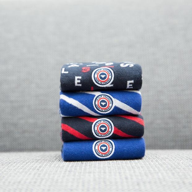 Les Lucas - Cobalt blue socks