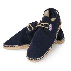 Les Espas - Navy blue Espadrilles with shoelace