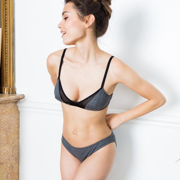 La Zaza - Grey panties