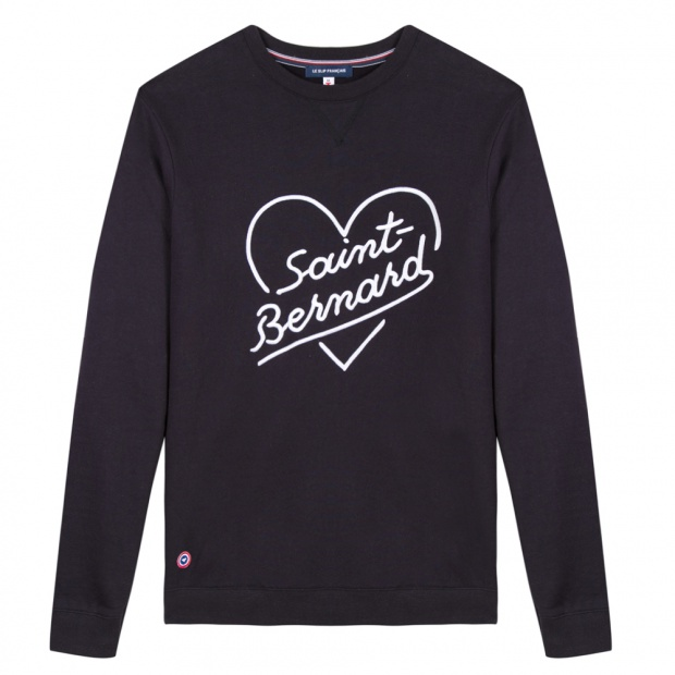 Le Robin Saint-Bernard - Navy blue Sweatshirt