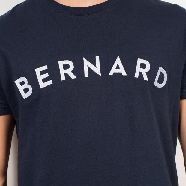 Le Jean-B Saint-Bernard - Navy blue T-shirt