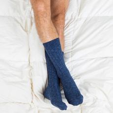 Les martin blue - blue socks