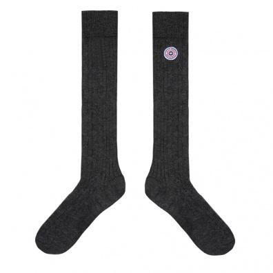 Les Albert Grey - Grey high socks