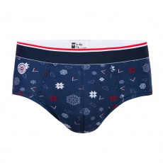 Le Terrible - Snowflake printed Brief