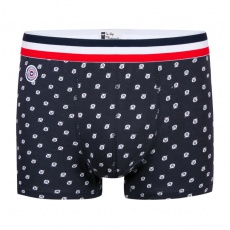 Le Marius bear cub - Navy blue Boxer brief with bear print