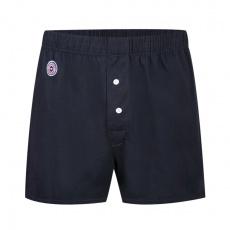Le Fredo Marine - Navy blue Jersey Boxershorts
