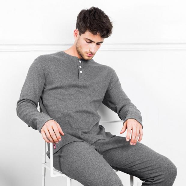 Le Norbert - Grey shirt