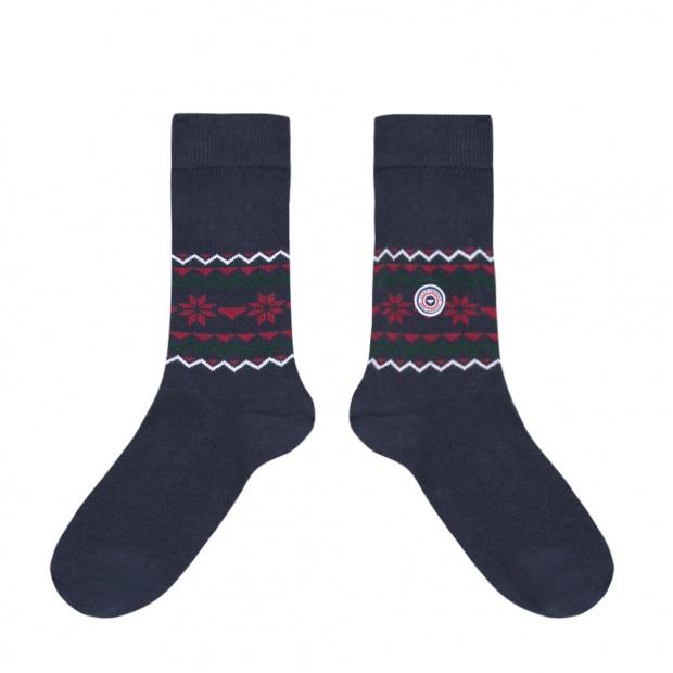 Les Lucas Flocon - Navy socks