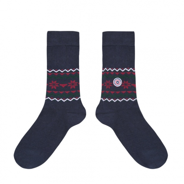 Les Lucas Flocon - Navy socks