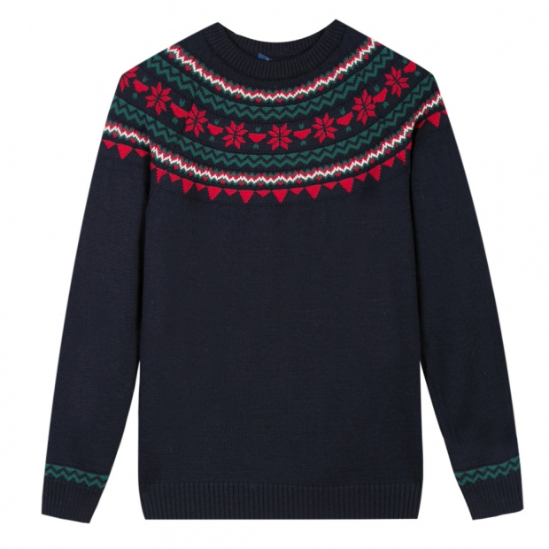 Le Rodolphe navy - Navy pullover