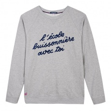 Le Hubert Grey - Grey Sweatshirt