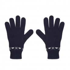 Les citadins navy - wool gloves