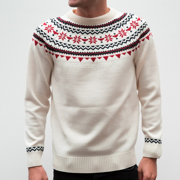 Le Rodolphe off-white - Off-white pullover