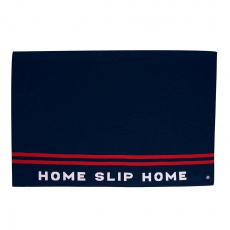 Le Gaspard - Navy and red wool plaid