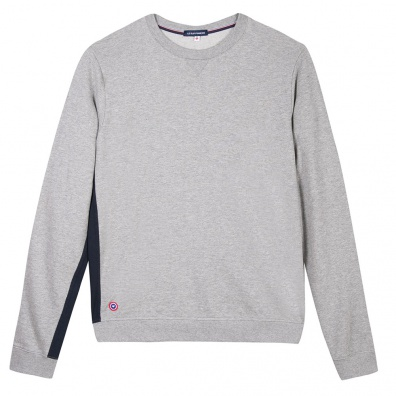 Le Basile - Grey sweat-shirt