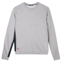 Le Basile Grey- Grey sweat-shirt