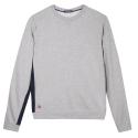 Le Basile Grey- Grey sweat-shirt